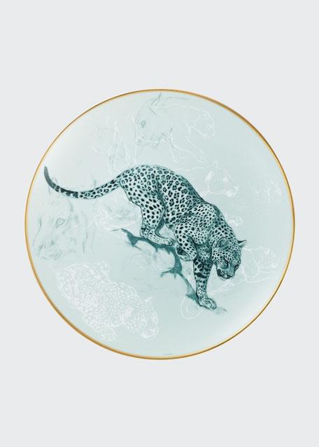 Carnets d'Equateur Panther Salad Plate
