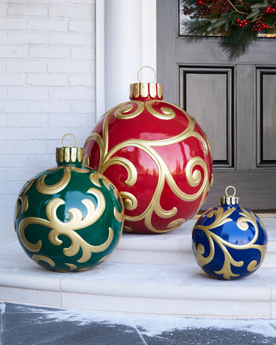 Outdoor Christmas Ornament  Small