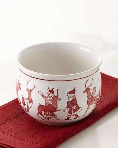 Country Estate Reindeer Games Comfort Bowl