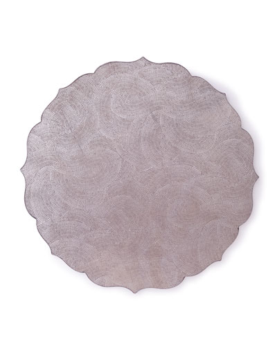 Tangier Placemat  Silver