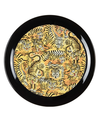 Round Tiger Tray  Large