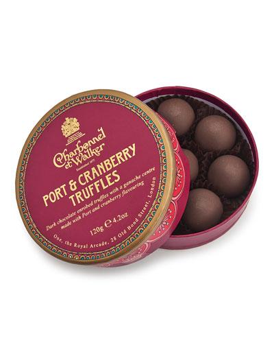 Paper Theatre Collection – Port & Cranberry Truffles