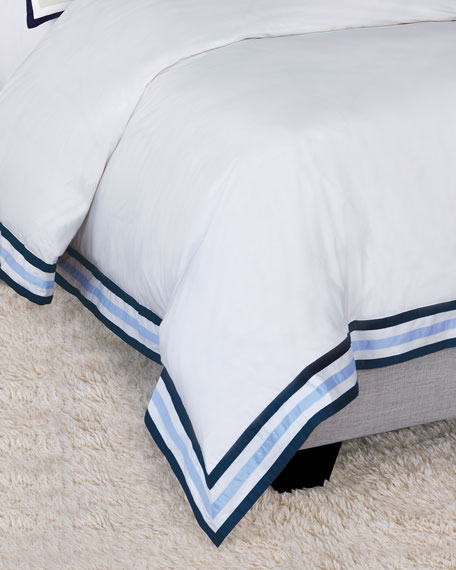 Watermill Indigo Oversized King Duvet