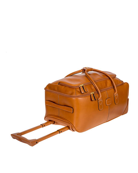 "Life Pelle 21"" Rolling Duffel Bag  Luggage"