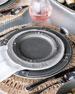 Berry & Thread French Panel Stone Grey Dessert/Salad Plate