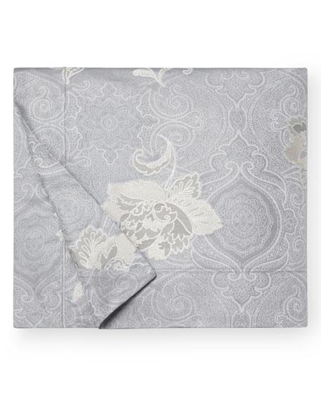 Floral Bloom Jacquard Full/Queen Duvet Cover