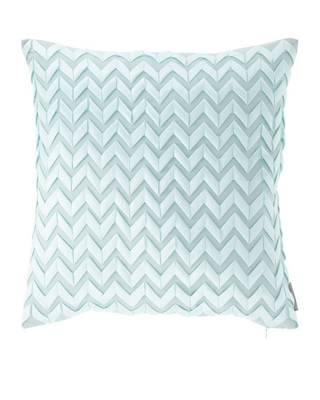 "Chevron Pillow, 20""Sq."