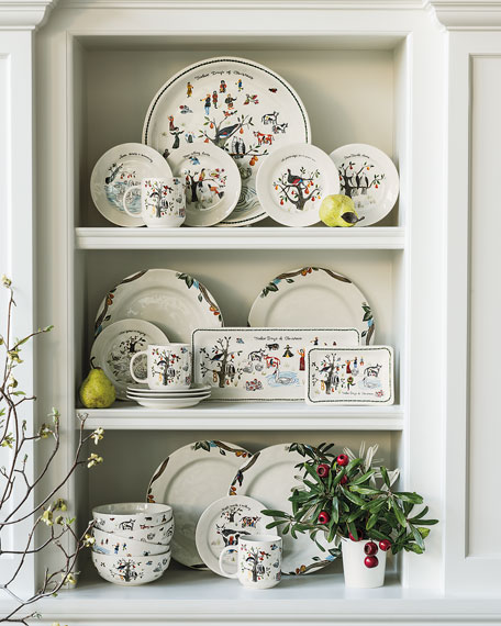 "Twelve Days of Christmas Platter, 15""Dia."
