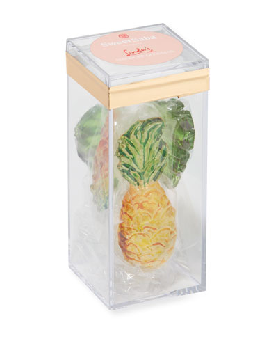 Parrot  Leaf & Pineapple Candy Box