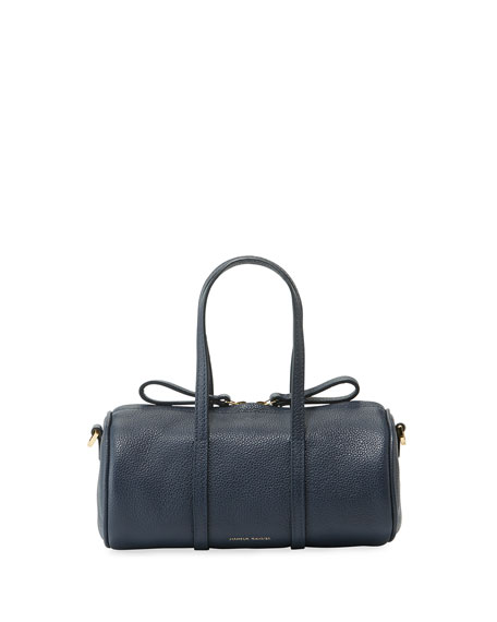 Image 1 of 1: Pebbled Mini Mini Leather Duffel Bag