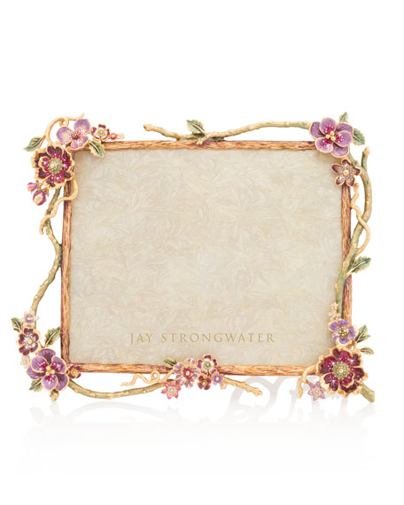 "Floral Branch Picture Frame, 8"" x 10"""