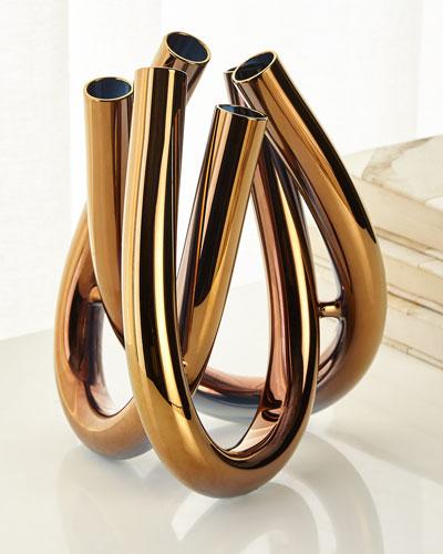 Triu Vase  Copper