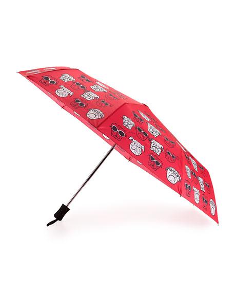 Bulldogs Auto-Open Umbrella