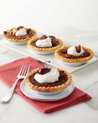 Chocolate Lovers Pies  Set of 4