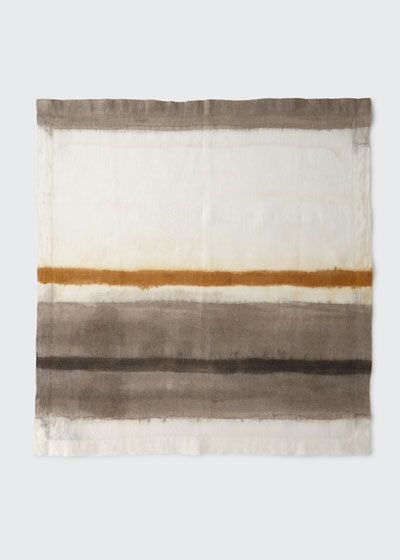 Horizon Dyed Ombre Linen Napkin
