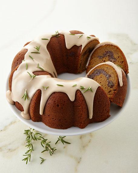 Pecan Pumpkin Streusel Coffee Cake