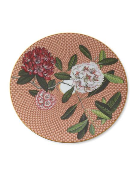 Tresor Fleuri Rhododendron Dessert Plate
