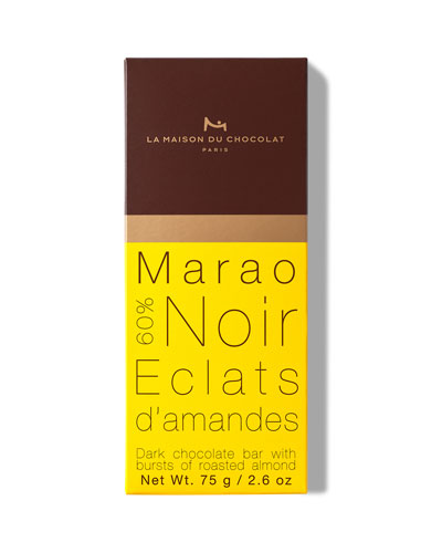 Dark Chocolate Almond Marao Bar