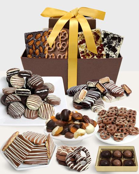 Artisan Crafted Belgian Chocolate Gift Basket