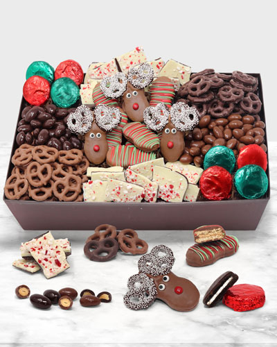 Perfect Holiday Belgian Chocolate Gift Basket