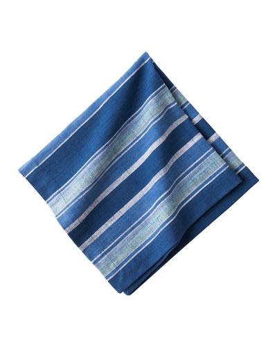 Indigo Stripe Napkin
