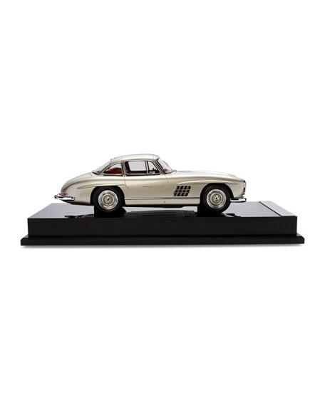Ralph Lauren's 1955 Mercedes Benz 300 SL Gullwing Coupe Miniature Scaled Car Replica