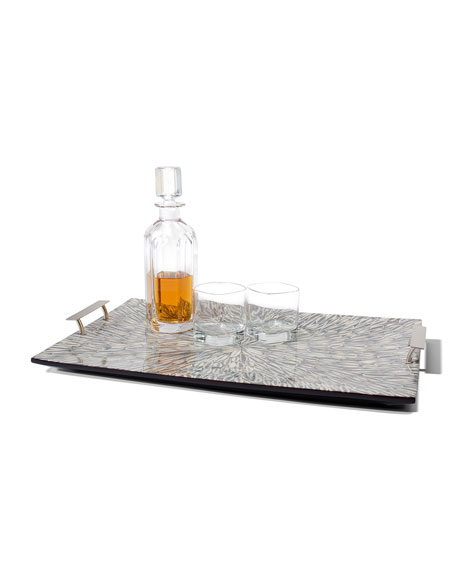 Gray Almendro Large Tray