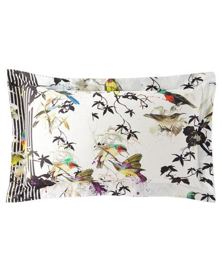 Birds Ramage King Shams, Set of 2