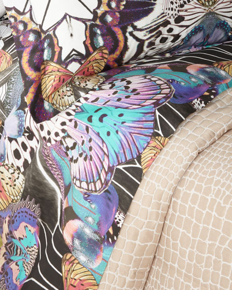 Flying Wings Queen Fitted Sheet