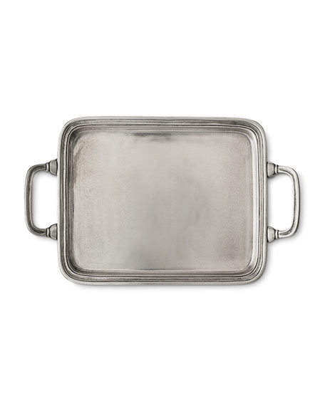 Small Rectangle Tray with Handles