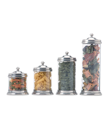 Large Glass Canister