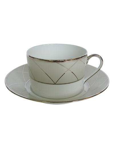 Clair de Luna Arch Teacup Set