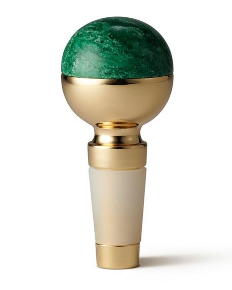 Sphere Stone Bottle Stopper