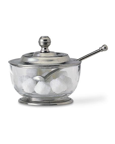Sugar Bowl with Spoon
