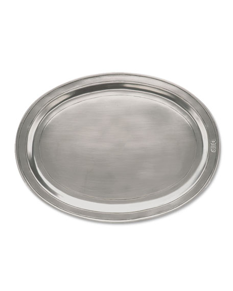 Medium Oval Incised Tray