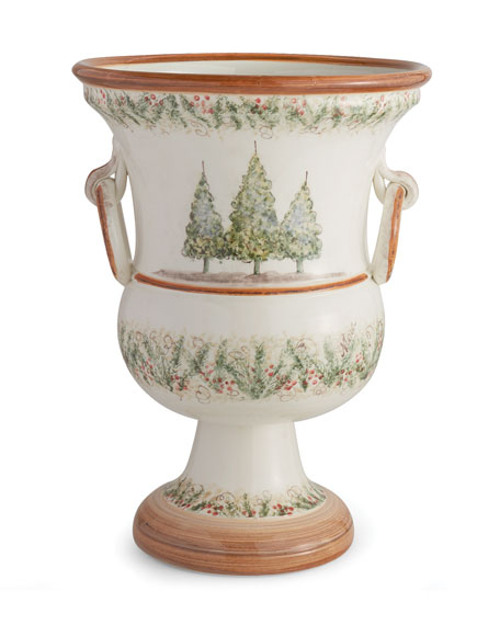 Image 1 of 1: Natale Footed Planter