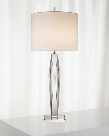 Castle Peak Narrow Table Lamp