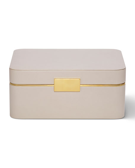 Beauvais Leather Jewelry Box