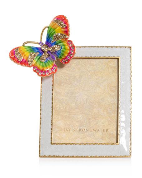"""Rainbow Butterfly Frame, 3"""" x 4"""""""