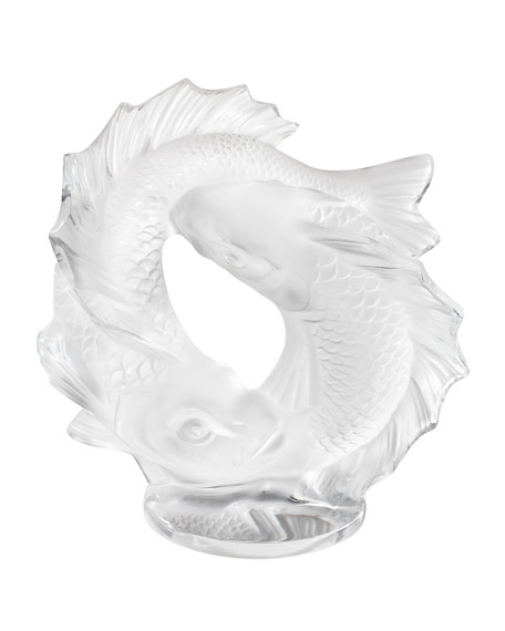 Small Double Fish Sculpture