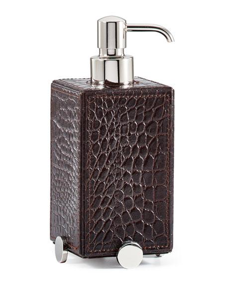 Discus Brown Pump Dispenser