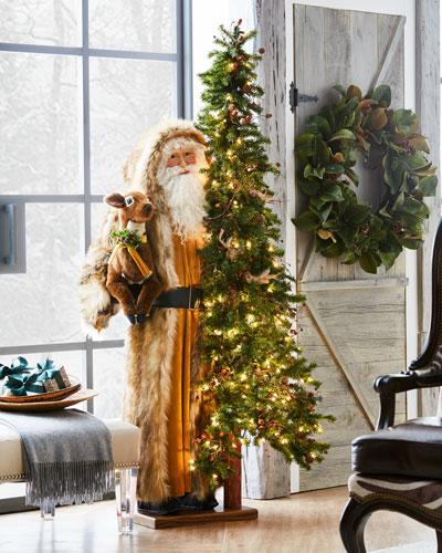 Golden Harvest Santa