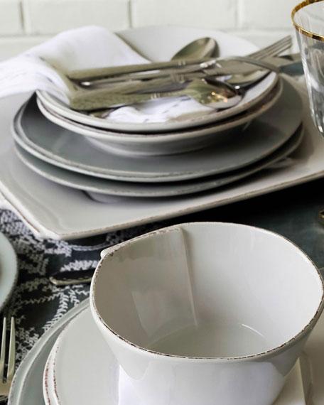 Lastra Pasta Bowl, Light Gray