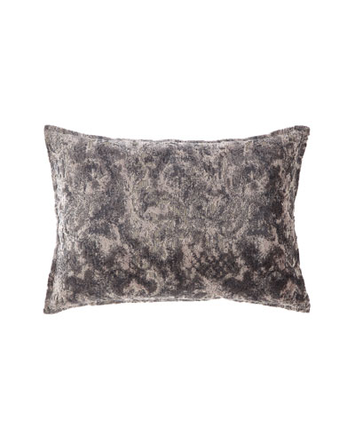 Verbina Gray Chaise Pillow