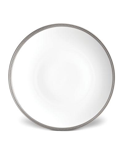 Soie Tresse Platinum Charger