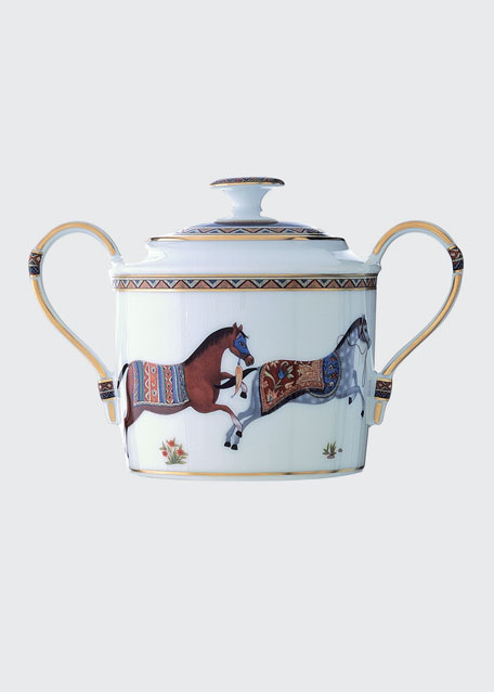 Cheval D'Orient Sugar Bowl