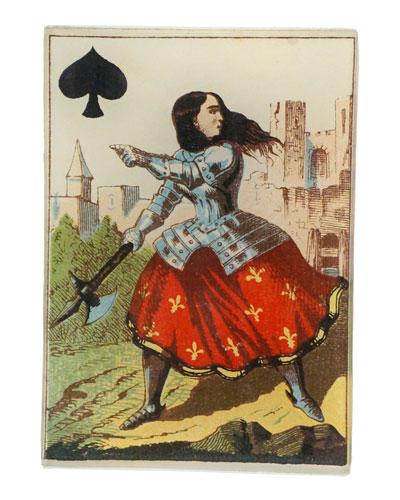 Queen of Spades Rectangular Tiny Tray