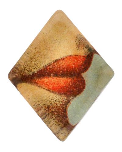 Lips Diamond Charm Paperweight