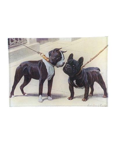 Boston Terrier French Bulldog Mini Tray