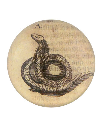 Snake Dome Paperweight